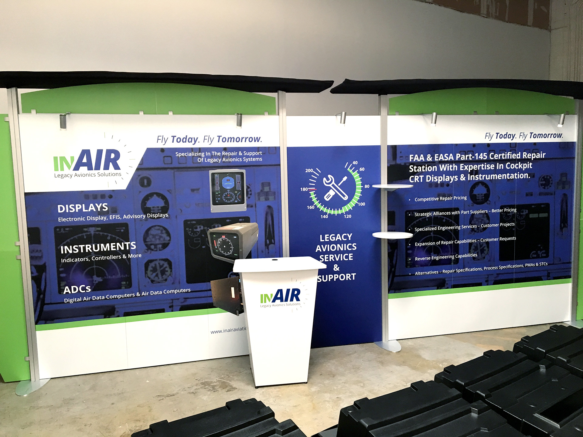 INair Tradeshow Booth