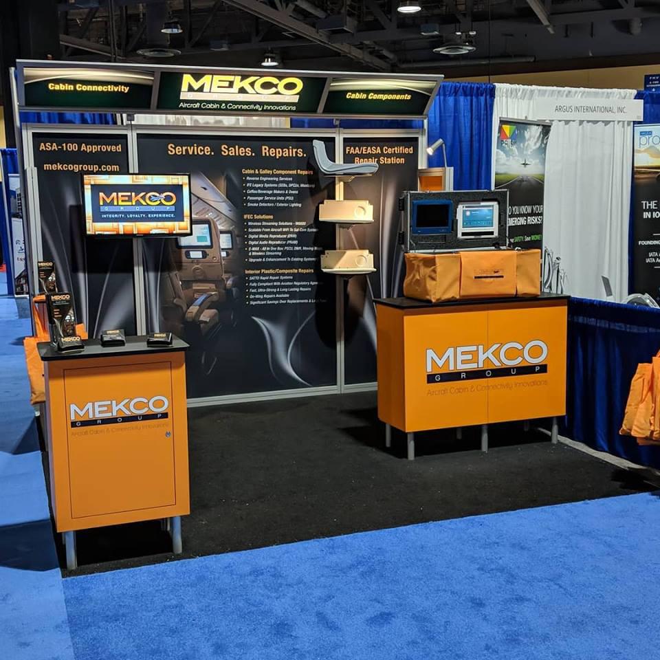 Mekco Tradeshow Booth